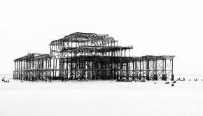 Monochrome_West Pier Skeleton_sheila higgs